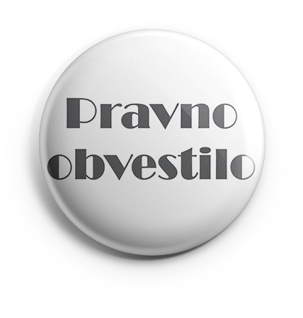 Pravno obvestilo